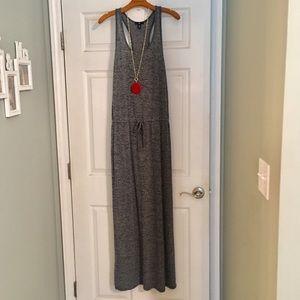 Navy Gap Maxi Dress